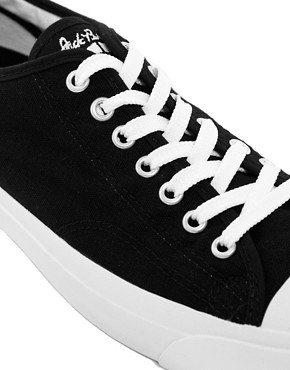Image 2 of Converse Jack Purcell Canvas Plimsolls