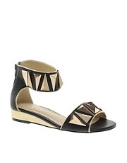 ALDO Kasota Ankle Strap Wedge Sandals