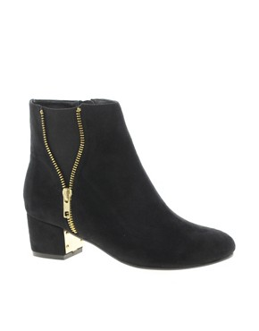 Image 1 ofRiver Island Zip Side Ankle Boots
