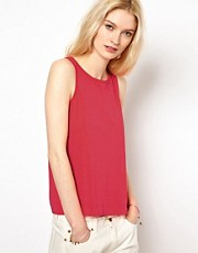 YMC Scoop Back Tank in Linen Jersey