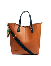 Paul's Boutique Stella Leather Tote Bag