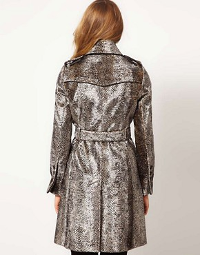 Image 2 ofKaren Millen Snake Pony Coat