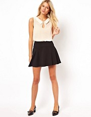 ASOS Mini Skirt in Ponte