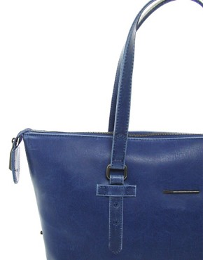 Image 4 ofMatt &amp; Nat Vintage Blue Satchel