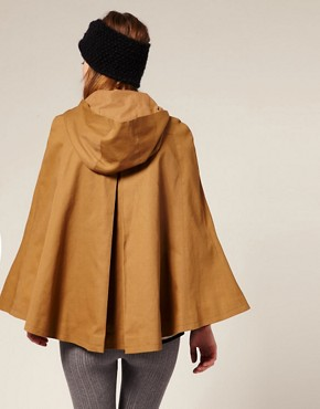Image 2 ofASOS Cotton Duffle Cape