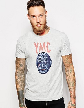 YMC T-Shirt with Mummy Print