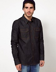 Nudie Shirt Gunnar Dry Denim