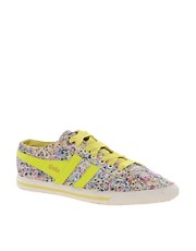 Gola Liberty Quota Melly Yellow Trainers