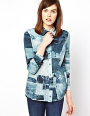 Emma Cook Printed Shirt