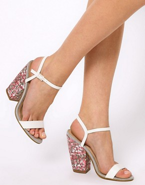 Image 3 ofASOS HALF MOON Heeled Sandals