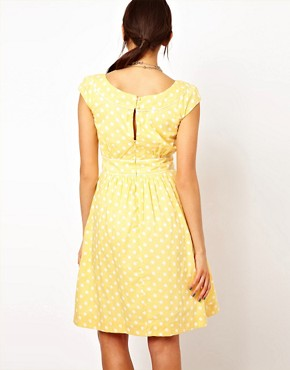 Image 2 ofEmily &amp; Fin Polka Skater Dress