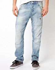 Jack & Jones Stan Arvi Jeans in Anti Fit