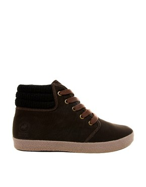 Image 4 ofJack &amp; Jones Oslo High Wool Chukka Boots