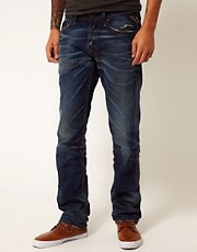 Replay Jeans Waitom Regular Slim Deep Flame