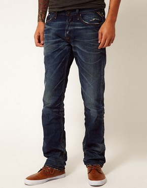 Image 1 ofReplay Jeans Waitom Regular Slim Deep Flame