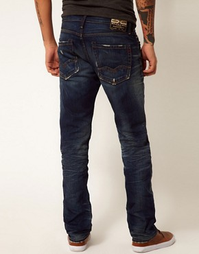 Image 2 ofReplay Jeans Waitom Regular Slim Deep Flame