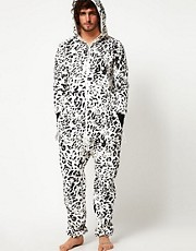 OnePiece Snow Leopard Onesie