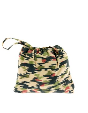 Image 3 of ASOS Packable Anorak In Camo