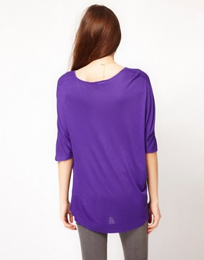 Image 2 ofFrench Connection Slouchy Jersey T-Shirt