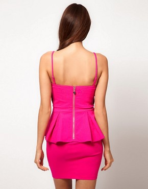 Image 2 ofLipsy Double Peplum Dress