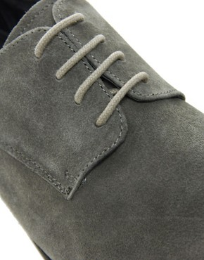 Image 2 of ASOS Derby Shoes in Suede