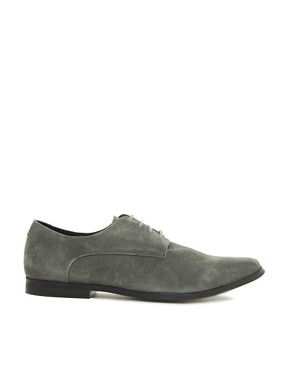 Image 4 of ASOS Derby Shoes in Suede
