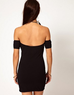 Image 2 ofOne Teaspoon Holster Dress with Off Shoulder Detail