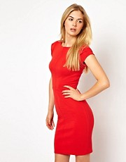 Closet Pencil Dress with Cap Sleeve