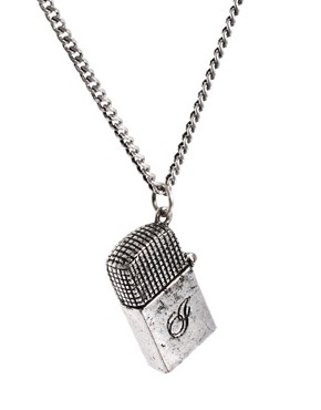 Image 4 ofIcon Brand Lighter Necklace