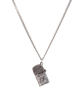 Image 1 ofIcon Brand Lighter Necklace