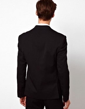 Image 2 of ASOS Skinny Fit Suit Jacket in Polywool