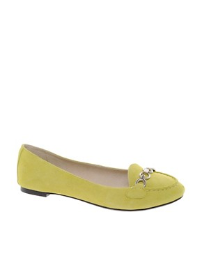 Image 1 ofASOS LATIN Suede Loafers