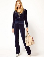 Juicy Couture Slim Leg Track Pant