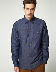 Minimum Long Sleeve Quilted Shirt