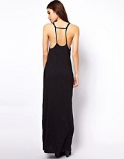 ASOS Maxi Dress In Nepi With Strap Detail