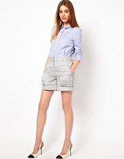 ADAM by Adam Lippes Patch Pocket Shorts