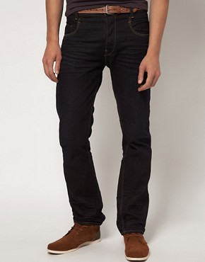 Image 1 ofG Star New Radar Tapered 3d Straight Jean