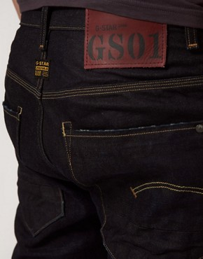 Image 4 ofG Star New Radar Tapered 3d Straight Jean