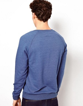 Image 2 ofASOS Sweatshirt With Notch Neck