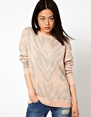 Vero Moda Animal Longline Jumper