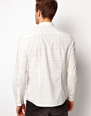 Image 2 ofASOS Shirt With Polka Dot
