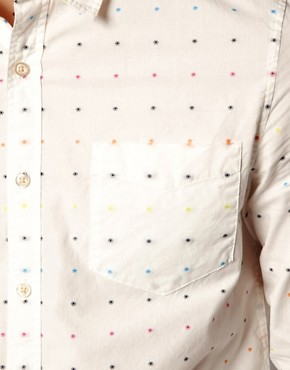 Image 3 ofASOS Shirt With Polka Dot