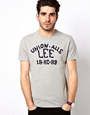 Lee T-Shirt Union Applique Regular Fit