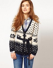 Pepe Jeans Fairisle Cardigan