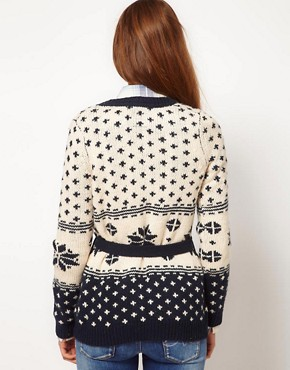Image 2 ofPepe Jeans Fairisle Cardigan