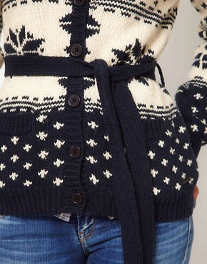 Image 3 ofPepe Jeans Fairisle Cardigan