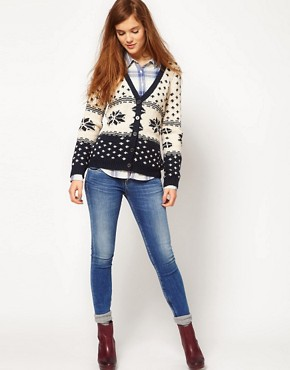 Image 4 ofPepe Jeans Fairisle Cardigan