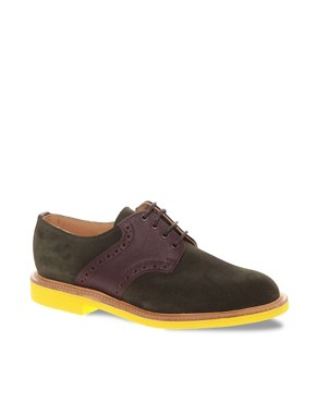 Image 1 of Mark McNairy New Amsterdam Suede Saddle Shoes