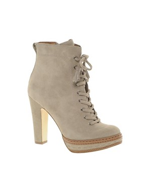 Image 1 ofJuicy Couture Madras Suede Lace Up Boot