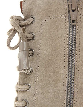 Image 3 ofJuicy Couture Madras Suede Lace Up Boot